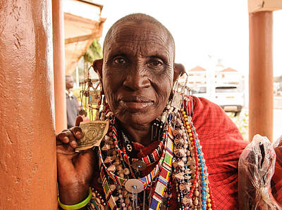 Photograph - Tanzania Portrait by Mitchell R Grosky