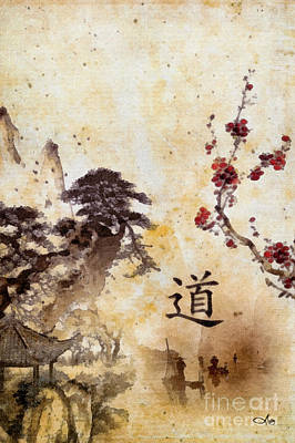 Painting - Tao Te Ching by Mo T