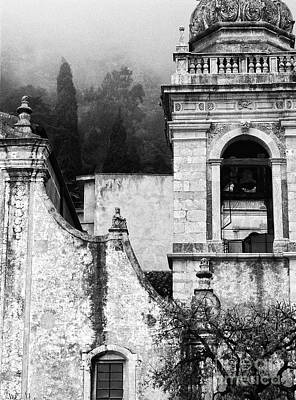 Photograph - Taormina Church Detail by Silvia Ganora