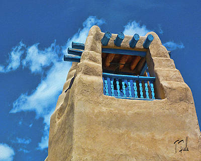 Photograph - Taos Blue by Terry Fiala