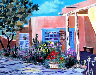 Taos Book Shop Art Print