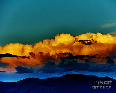 Photograph - Taos Clouds IIi by Charles Muhle
