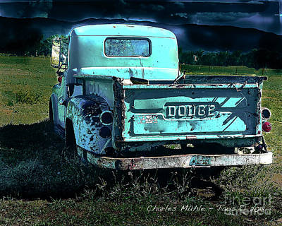 Photograph - Taos Dodge by Charles Muhle