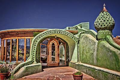 Earthship Photograph - Taos Earthship by Diana Powell