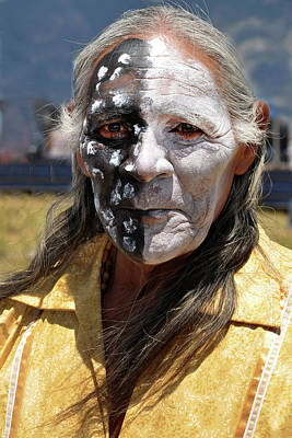 Photograph - Taos Elder by Jennifer Wright