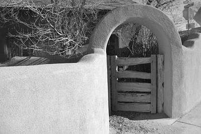 Photograph - Taos Gate by Kathleen Stephens