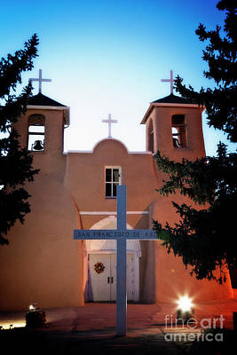 Photograph - Taos Mission Church by Scott Kemper