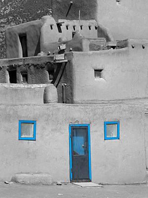 Photograph - Taos Pueblo 25 by Jeff Brunton