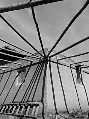 Photograph - Taos Pueblo 33 by Jeff Brunton