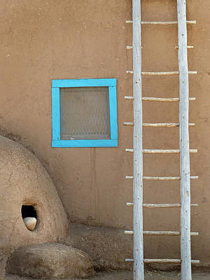Photograph - Taos Pueblo 51 by Jeff Brunton