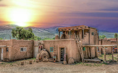 Photograph - Taos Pueblo by Anna Rumiantseva