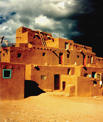 Art Print featuring the photograph Taos Pueblo by Kathleen Stephens
