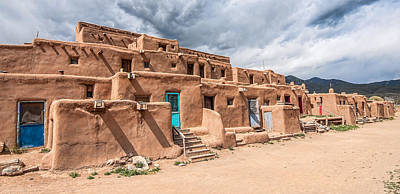 Photograph - Taos Pueblo New Mexico by Britt Runyon