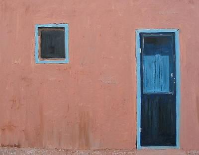 Taos Pueblo Vi Art Print by John Terry