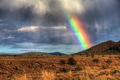 Taos Rainbow Art Print by William Wetmore