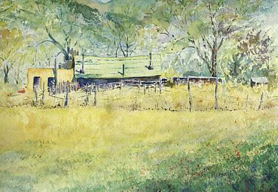 Taos Ranch Art Print