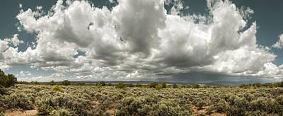Photograph - Taos Sage Plateau by Amadeus Leitner