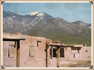 Photograph - Taos Something In The Light 2 by Mario Perron