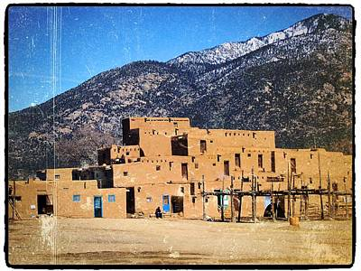 Photograph - Taos Something In The Light 6 by Mario Perron