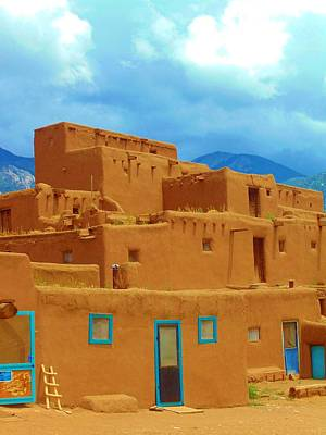 Photograph - Taos Turquoise by Michelle Dallocchio