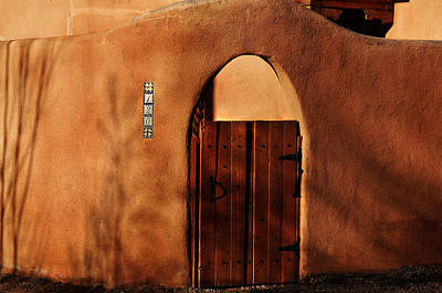 Photograph - Taos Wall by Kathleen Stephens