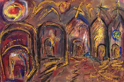 Pastel - Taos's Spirit by Katt Yanda