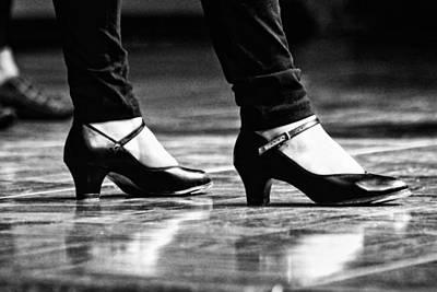 Tap Shoes Print by Lauri Novak