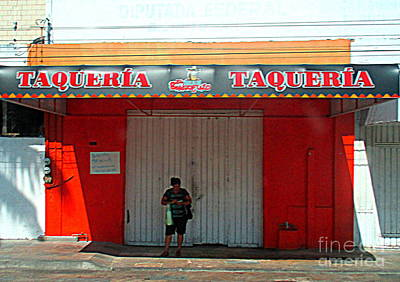 Photograph - Tapachula Building 3 by Randall Weidner