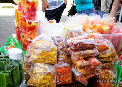 Photograph - Tapachula Market 1 by Randall Weidner