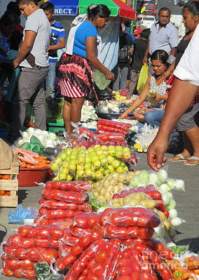 Photograph - Tapachula Market 2 by Randall Weidner