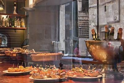 Photograph - Tapas Bar In Barcelona by Tatiana Travelways