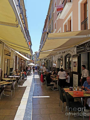 Photograph - Tapas Bars - Granada by Phil Banks