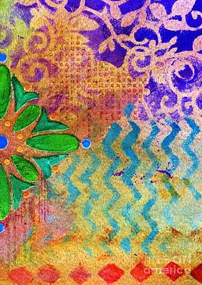 Ethereal - Tapestry 1 mini by Desiree Paquette