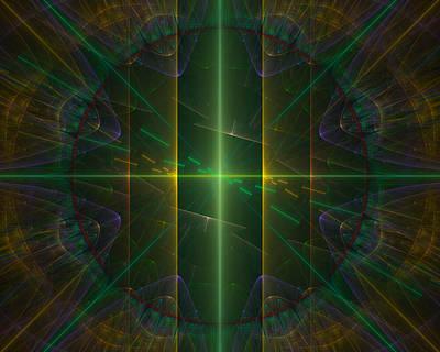 Fractal Digital Art - Tapestry 11 by FractalDzines