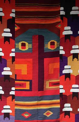 Photograph - Andean Fabric by Aidan Moran