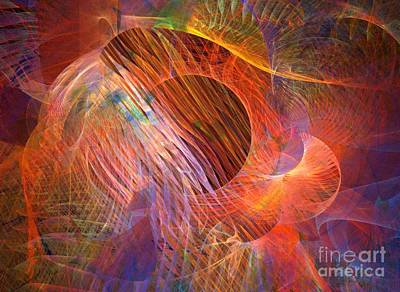 Digital Art - Tapestry by Helene Kippert