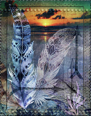 Digital Art - Tapestry by Linda Carruth