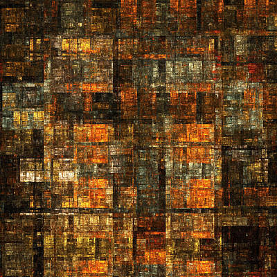 Digital Art - Tapestry Of Tenaments by Richard Ortolano