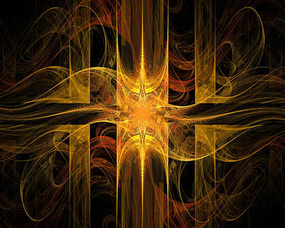 Digital Digital Art - Tapestry Three by FractalDzines