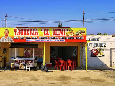 Photograph - Taqueria El Mimi by Dominic Piperata