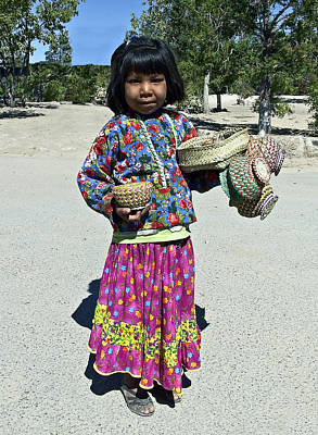 Photograph - Tarahumara Girl by Kurt Van Wagner