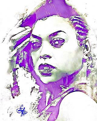 Digital Art - Taraji P. Henson by Lynda Payton