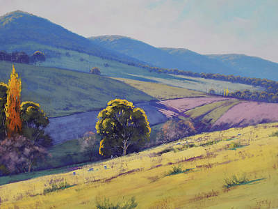 Paintings - Tarana Pastoral by Graham Gercken