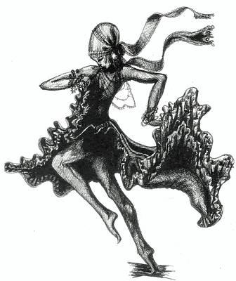 Tarantella Art Print by Yvonne Ayoub