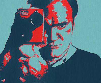 Tarantino Pop Art Art Print by Dan Sproul
