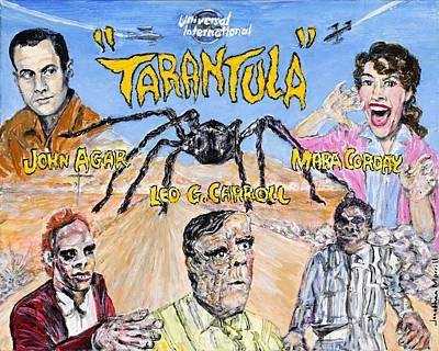 Painting - Tarantula - 1955 Lobby Card That Never Was by Jonathan Morrill