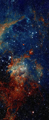 Photograph - Tarantula Nebula Triptych 3 by Weston Westmoreland