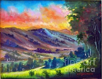 Painting - Tarde De Sol by Leomariano artist BRASIL