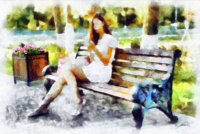 Quadro Painting - Tardiamente by Diretorio do Design - DD