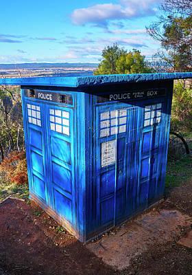 Photograph - Tardis - Canberra - Australia by Steven Ralser